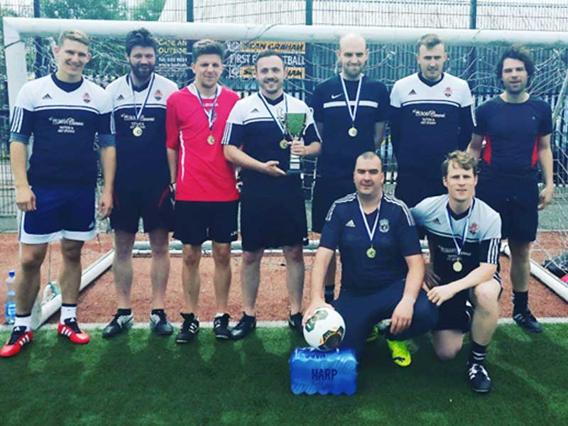 Belfast Donesk NI Soccer League Champions